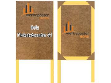 A1 Plakatständer -Werbeposter-Nord