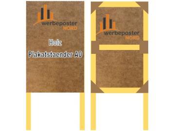 A0 Plakatständer - Werbeposter-Nord